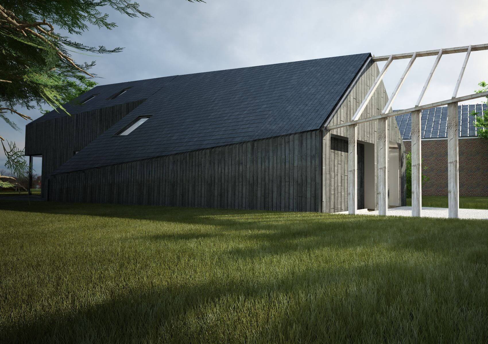 Du renovation of a farm and creating a passive house